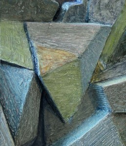 Study in Blue detail