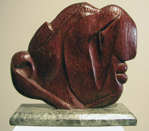 1988: The end of wood sculpture and the beginning of stone