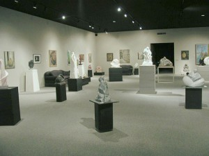 The gallery after reconstruction.
